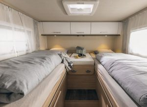 Sunlight integraal camper bed sfeerimpressie