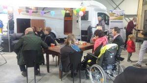 Campershow Noorderzon Campers Binnen