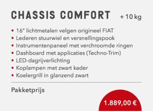 Sunlight Chassis Comfort pakket V-serie 2021