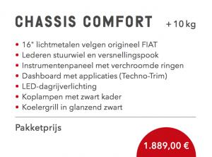 Sunlight Chassis Comfort pakket half-integraal alkoof 2021