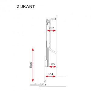 E-bike lift zijkant