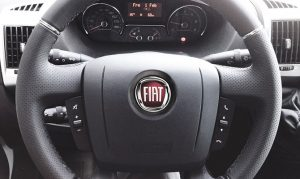 Stuurwielbediening – Fiat-Ducato-Camper